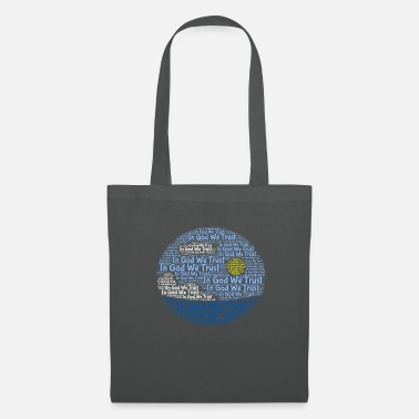 Chrétien In God We Trust avec style Tagul - Tote Bag