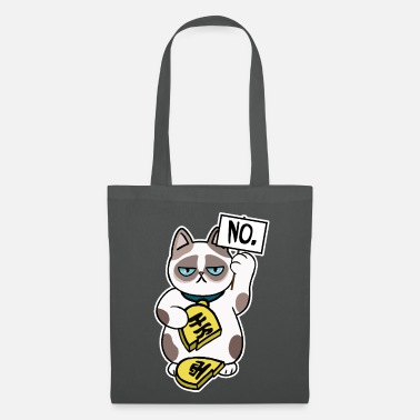 Conception de chat malchanceux - Tote Bag