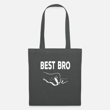 Little Brother Best brother shirt gift sister family - Tote Bag