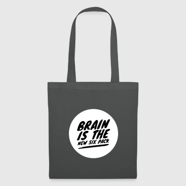Brain is the new six pack - Tote Bag