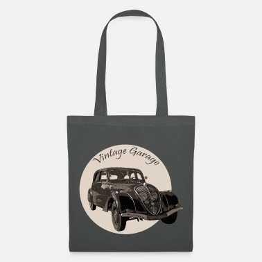 Voiture Vintage Garage - Tote Bag