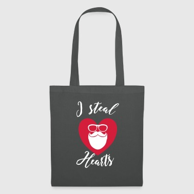 I steal Hearts - Hipster - Tote Bag