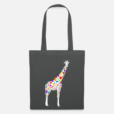 Girafe girafe coloré - Tote Bag