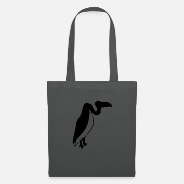 Seat Seated ugly vulture (mascot) - Tote Bag