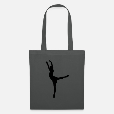 Ballet Vector Ballet dancer Silhouette - Tote Bag
