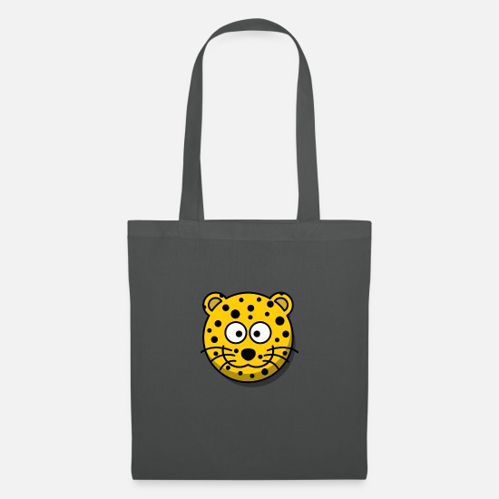 Leopard Bags & Backpacks - leopard - Tote Bag graphite grey