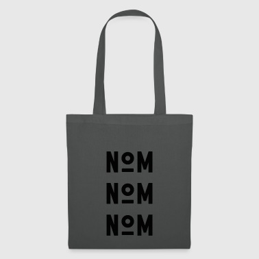 NOM NOM NOM - black - Tote Bag