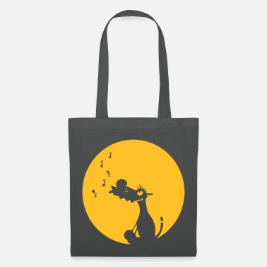 Loup Gris Chanter loup gris - Tote Bag