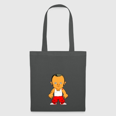 Cartoon character small gangster - Tote Bag