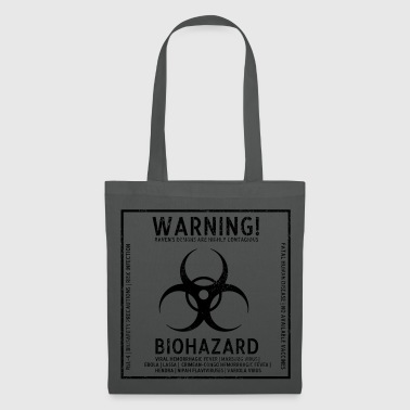 Biohazard bsl4 short - Tote Bag