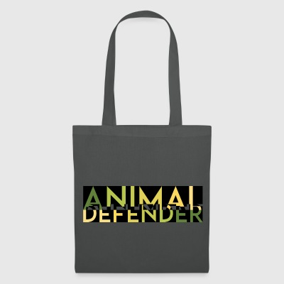 ANIMAL DEFENDER MELT vert - Tote Bag