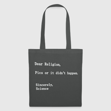 dear religion - Tote Bag