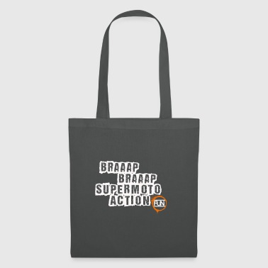 Supermoto Action - Tote Bag