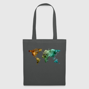 carte du monde - Tote Bag