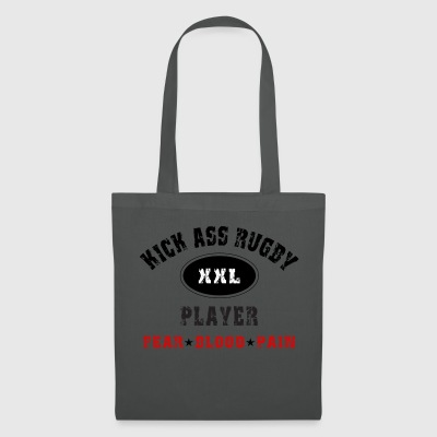 KICK ASS RUGBY PLAYER - Tote Bag