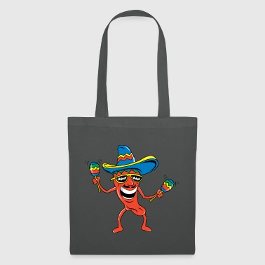 Mexicaanse Chili Pepper Grappige Mexicaanse - Tas van stof