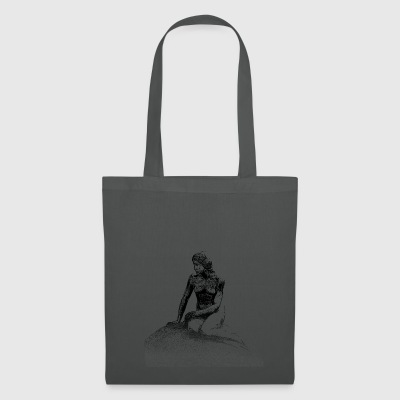 Around the World: Den Lille Havfrue - Copenhagen - Tote Bag