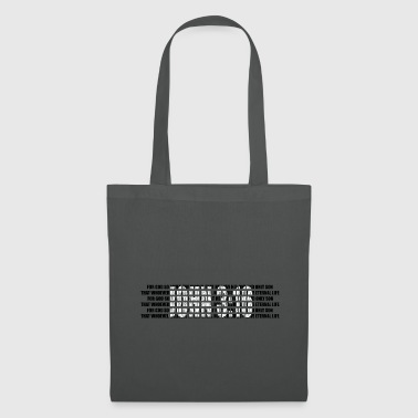 John 3:16 - The Bible - Bible verses - Tote Bag
