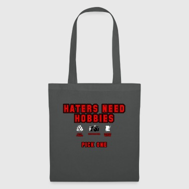 Haters (red) - Tote Bag