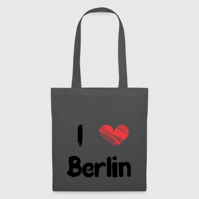 I love Berlin - Stoffbeutel