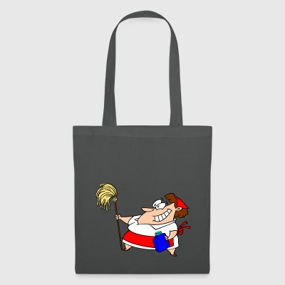 cleaning woman - Tote Bag