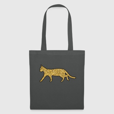 cat glitter - Tote Bag