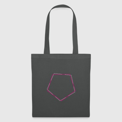polygone Shifted rose - Tote Bag