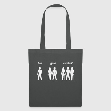 Bad, good, excellent.. (H) - Tote Bag