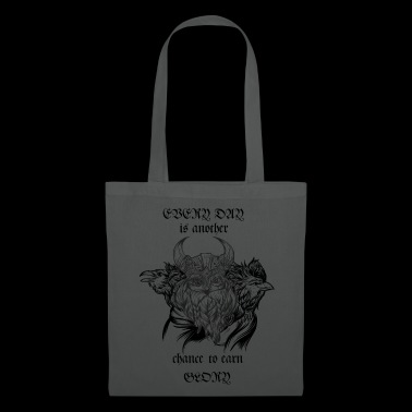 Odin with his ravens - Tote Bag
