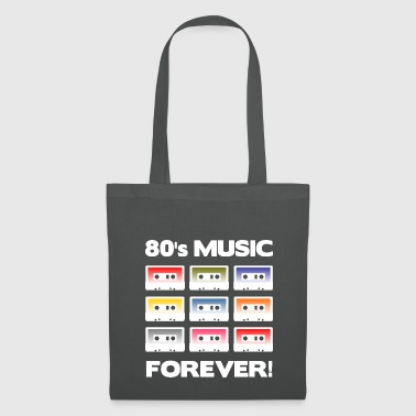 80 MUSIQUE FOREVER! (Blanc) - Tote Bag