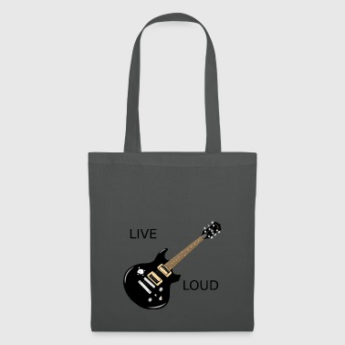 LIVE LOUD - Tote Bag
