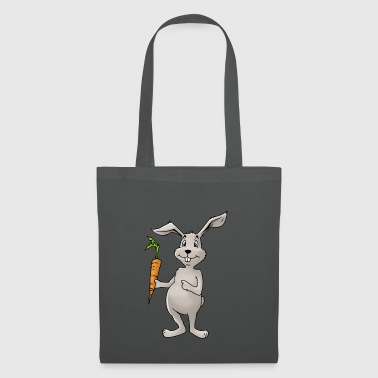 Bunny rabbit carrot Rodent Hare Rodent Hamster - Tote Bag