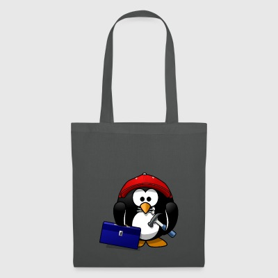 Craftsman penguin - Tote Bag