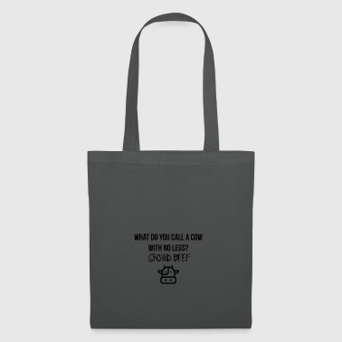 A cow with no legs - Tote Bag