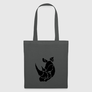 Pride of Africa - Mean Rhino - Tote Bag