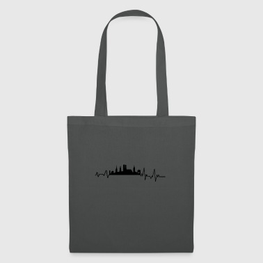 Heartbeat Munich T-Shirt Gift Germany - Tote Bag
