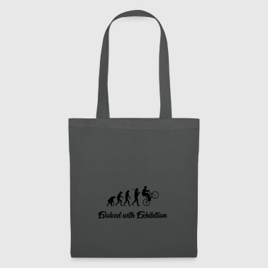 Evolution bike ride biker bike gift hobby - Tote Bag
