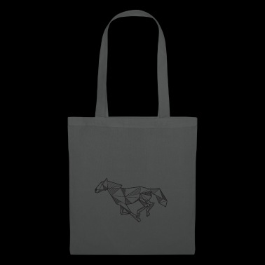 Horse Geometric Gift Idea Rider Animal Gallop - Tote Bag