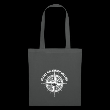 Hiking - compass gift - Tote Bag