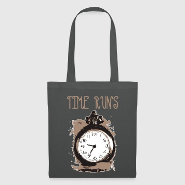time is running - Tote Bag