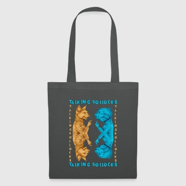 TALKING BOLLOCKS - Tote Bag