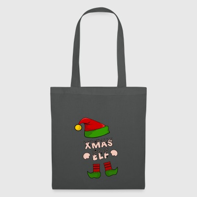 Xmas Elf - Christmas Elf - Gift - Tote Bag