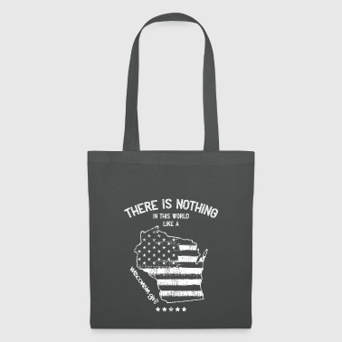 USA: Nothing Like A Wisconsin State Girl Gift - Tote Bag