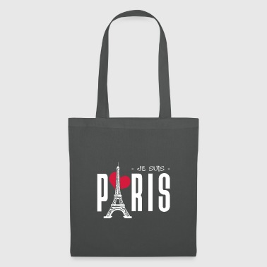 JE SUIS PARIS || I LOVE PARIS - Stoffbeutel