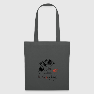 Geocaching mountains nature hiking - great gift - Tote Bag