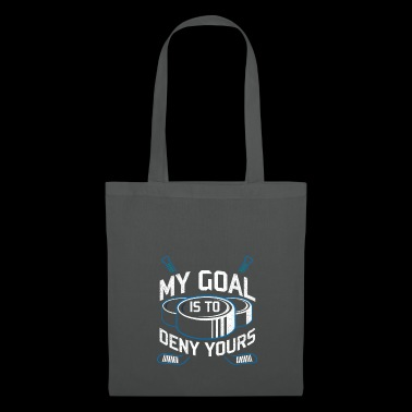 Les buts de hockey empêchent le gardien de but de hockey - Tote Bag
