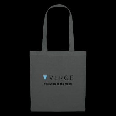 Verge - Follow me to the moon! XVG Crypto Currency - Tote Bag