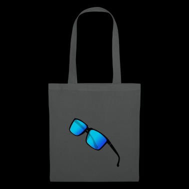 blue edgy cool sunglasses hipster gifti - Tote Bag