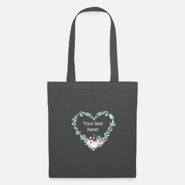Watercolour watercolour heart - Tote Bag