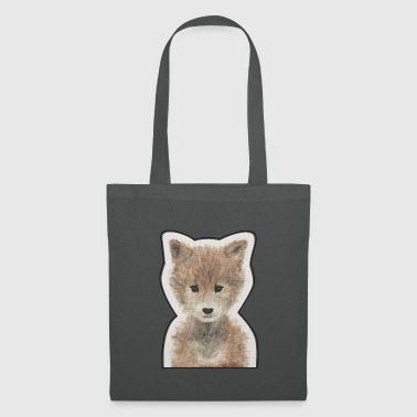 Bébé animal - Loup - Tote Bag